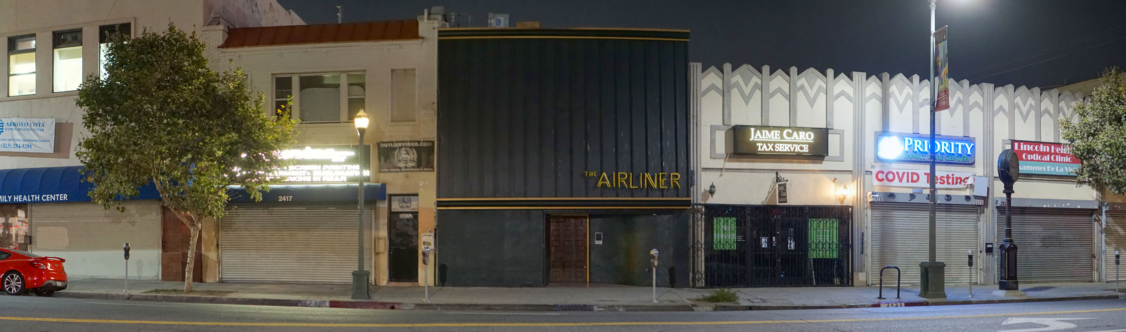 The Airliner Exterior