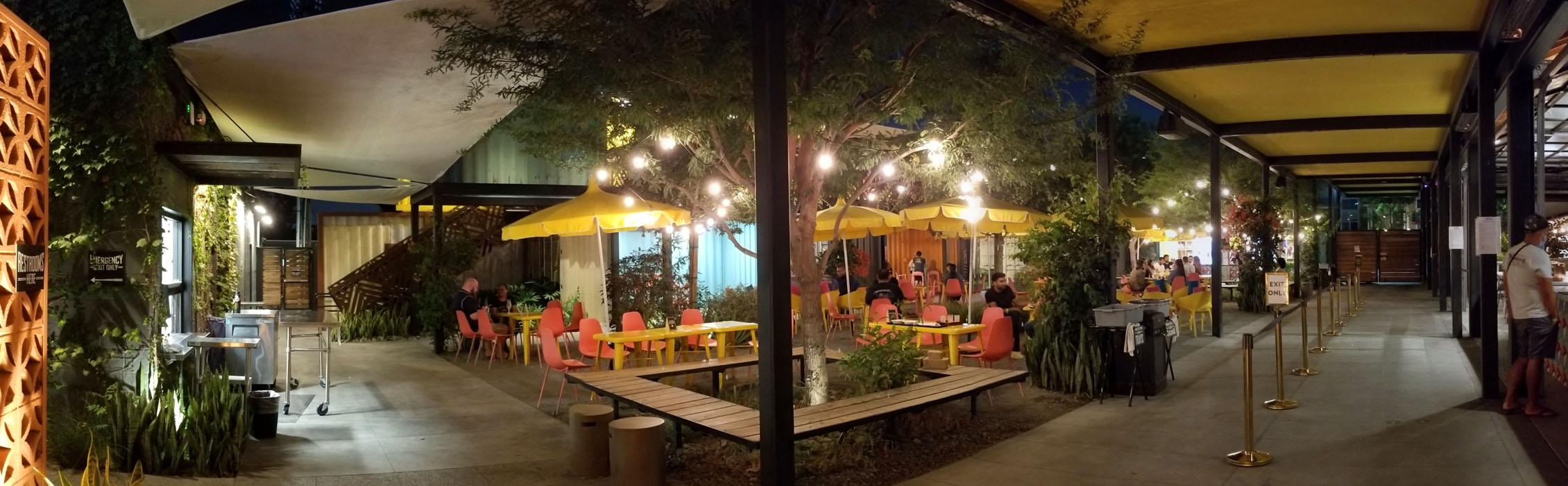 Modern Times Leisuretown Main Dining Area