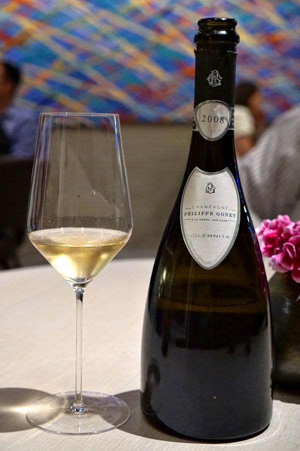 2008 Philippe Gonet Champagne Grand Cru 'Cuvée Belemnita' Blanc de Blancs