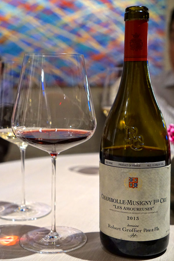 2013 Domaine Robert Groffier Chambolle-Musigny 1er Cru 'Les Amoureuses'