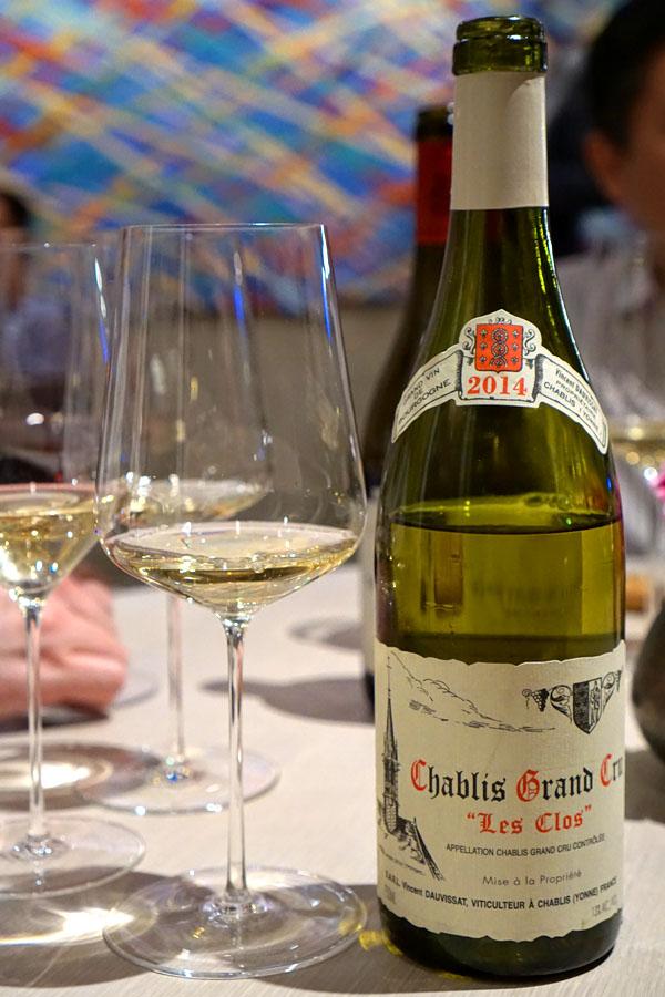 2014 René et Vincent Dauvissat Chablis Grand Cru 'Les Clos'