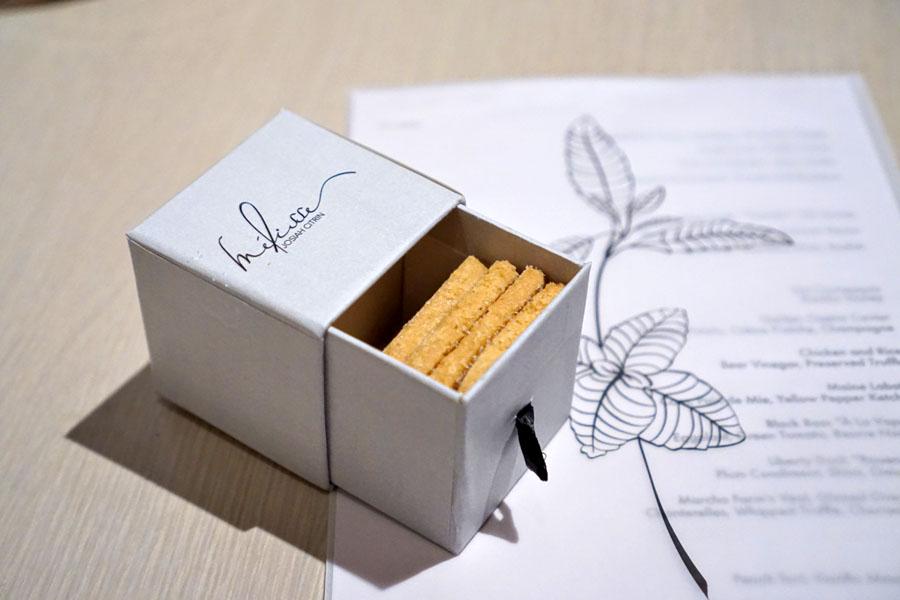 Shortbread Cookies & Menu