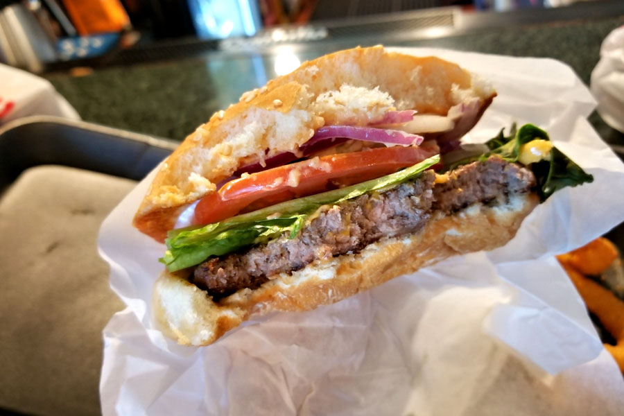 G.I. Joe Cheeseburger (Inside)