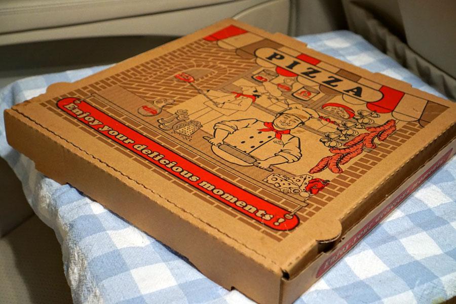 Tlayuda L.A. Pizza Box