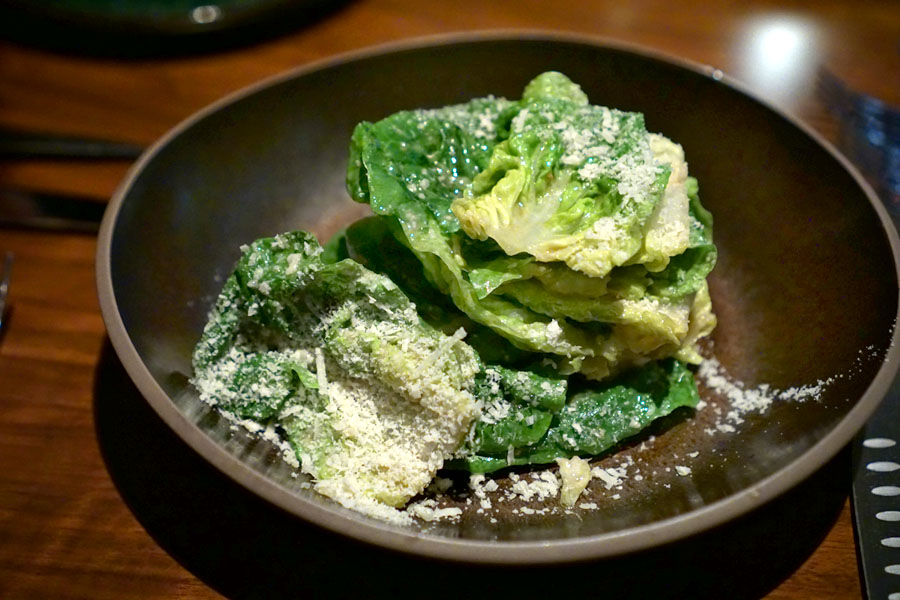 '47' Salad (baby gems with a savory vinaigrette and parmigiano)