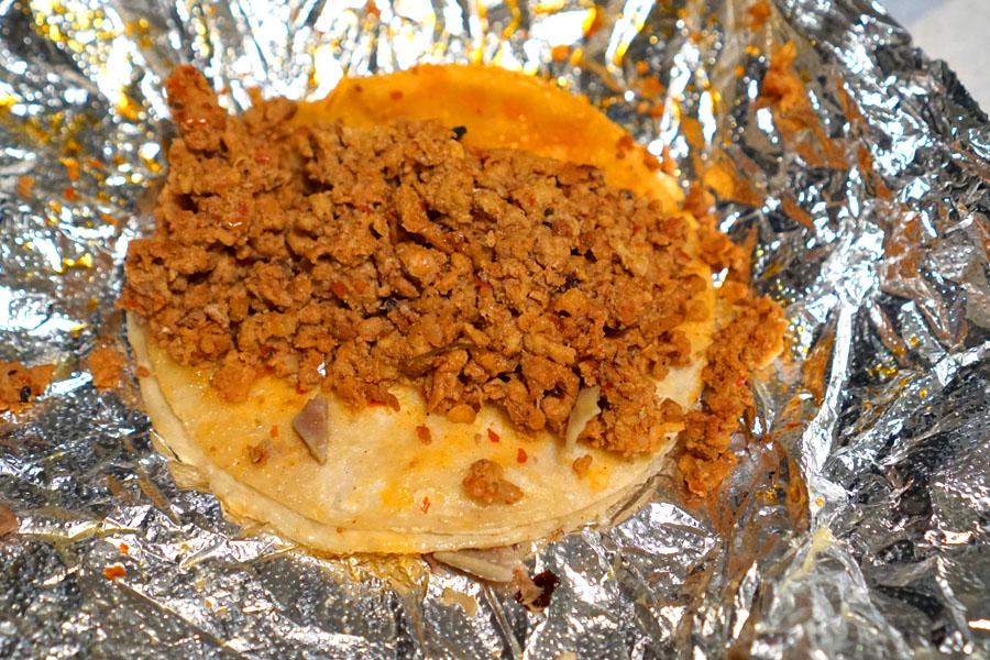 Taco - Chorizo
